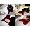 Cuscino chiazza di sangue