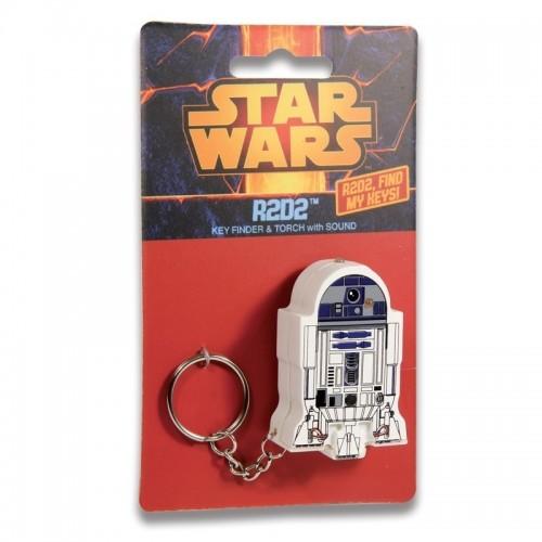 Portachiavi R2-D2 con effetti sonori e luce