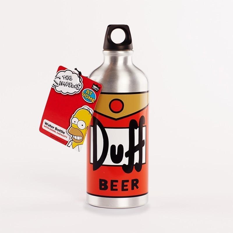 Borraccia bottiglia birra Duff Simpsons