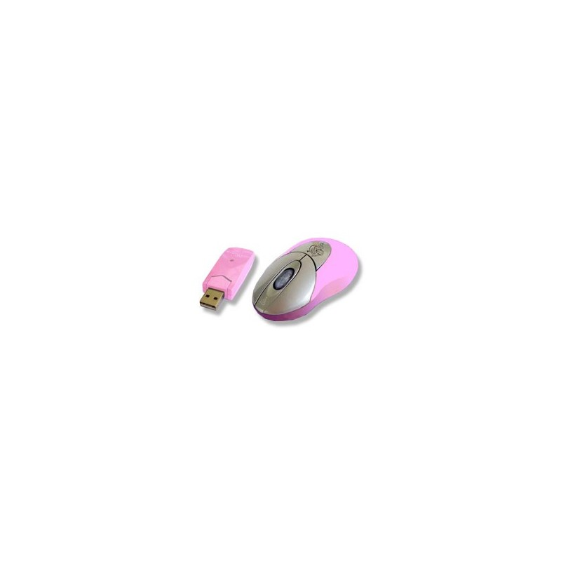 Kit Rosa per PC mouse Bluetooth con ricevitore USB