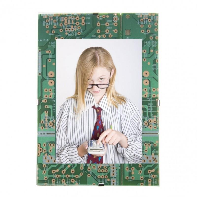 Cornice foto circuito stampato