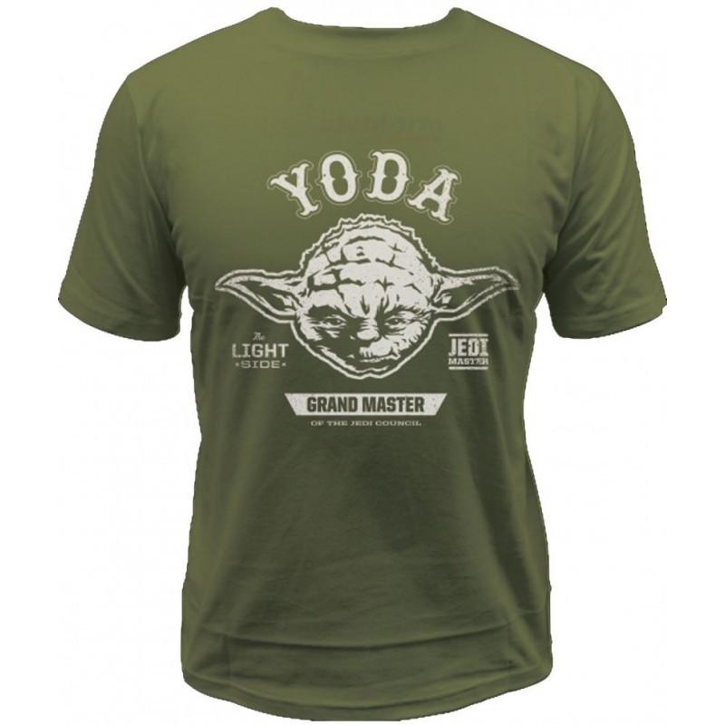 T-Shirt Maestro Jedi Yoda Guerre Stellari Star Wars