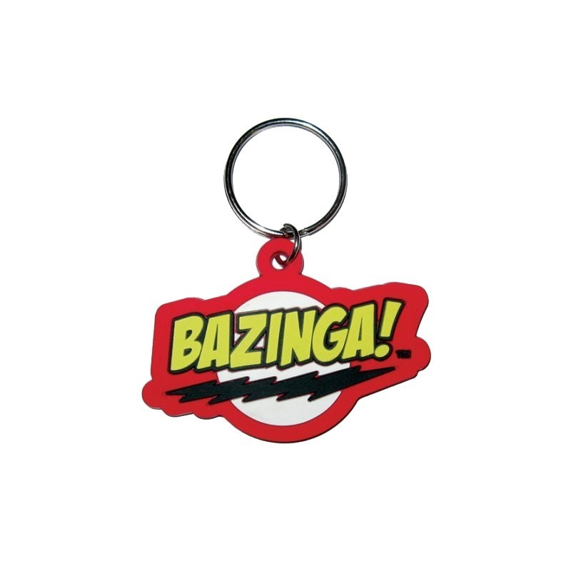 Portachiavi Bazinga Big Bang Theory Sheldon