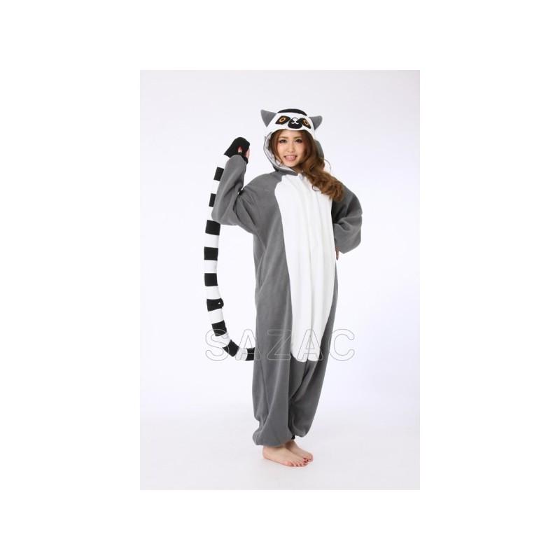 Pigiama intero giapponese Kigurumi Lemure