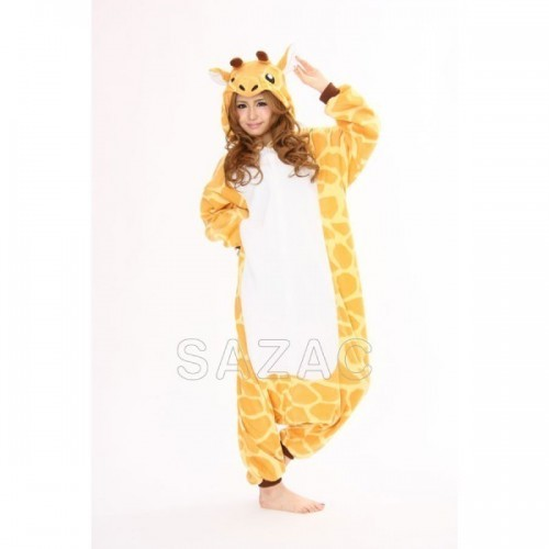 Pigiama intero giapponese Kigurumi Giraffa