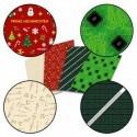 Carta da regalo geek circuito stampato