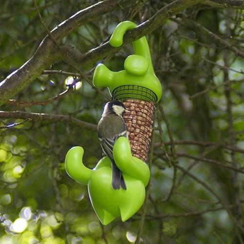 Claude mangiatoia per uccelli