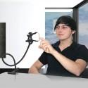 Supporto smartphone flessibile Lazy Arm