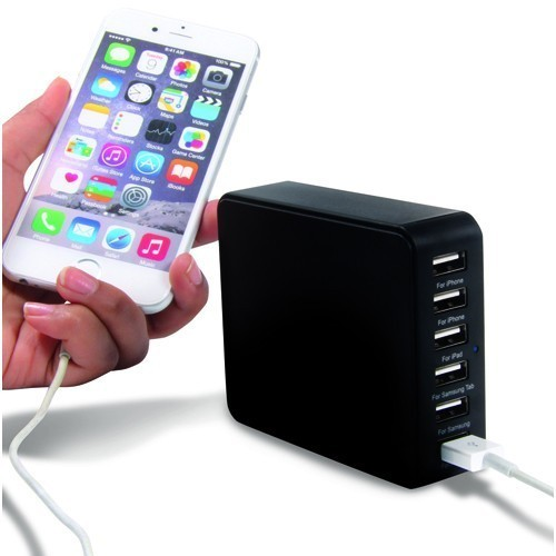 Caricatore USB 6 in 1