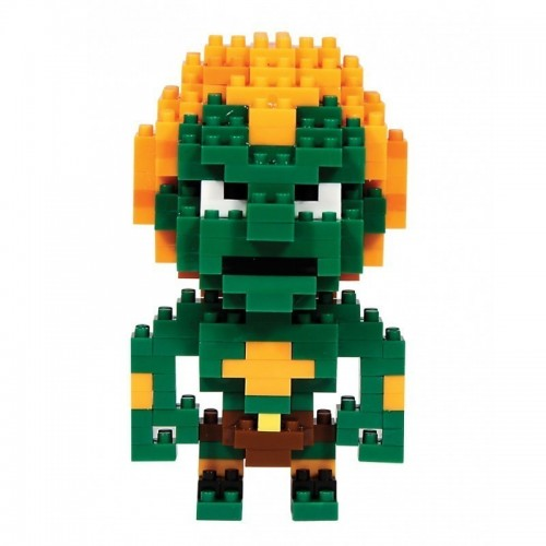 Blanka Pixel Street Fighter CAPCOM da costruire