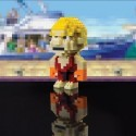 Ken Pixel Street Fighter CAPCOM da costruire