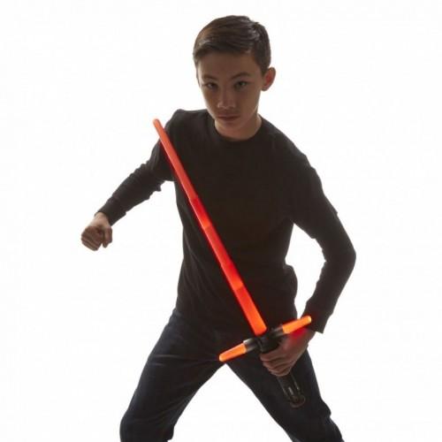 Spada Laser Kylo Ren telescopica effetti sonori Star Wars