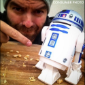 R2-D2 aspirapolvere da scrivania