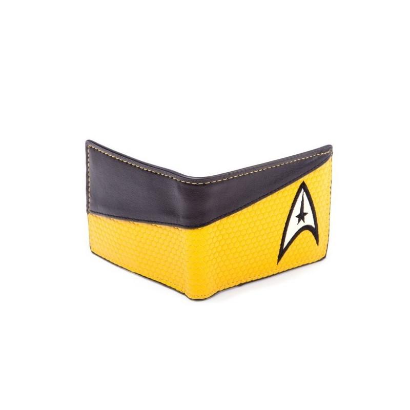 Portafoglio Star Trek giallo comando