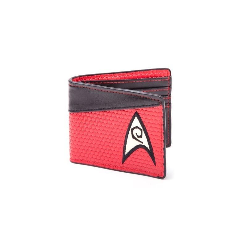 Portafoglio Star Trek rosso sicurezza