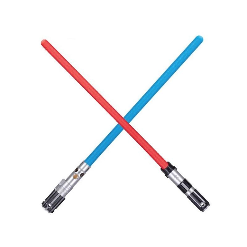 Spada laser Star Wars in schiuma morbida NERF