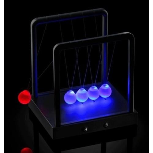 Pendolo sfere di Newton scrivania luminoso