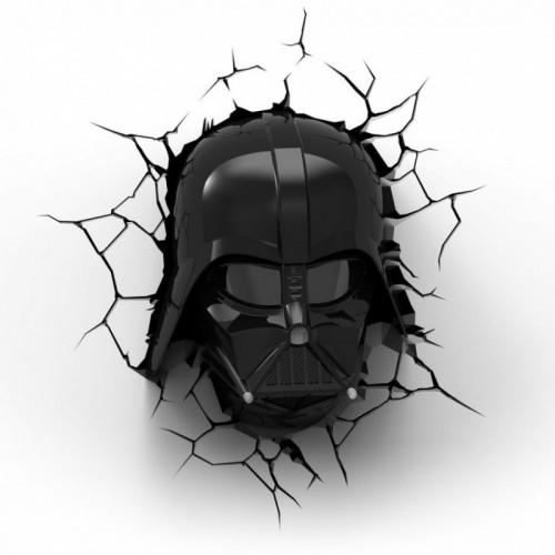 Lampada da muro Darth Vader