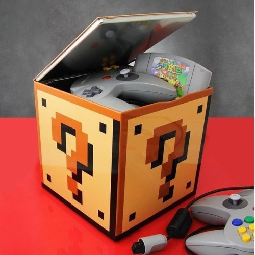 Scatola Super Mario punto interrogativo