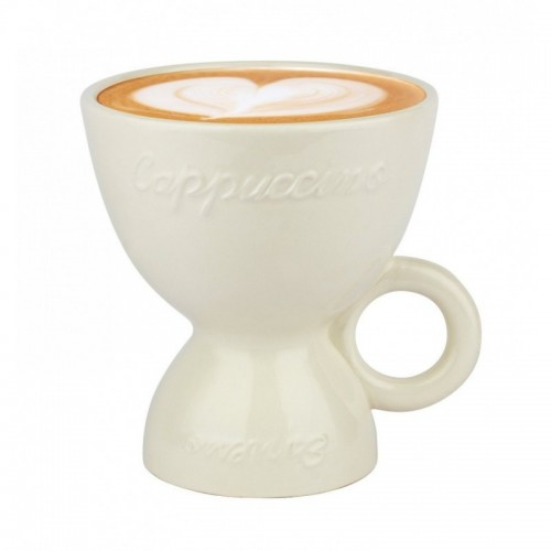Doppia tazza colazione caffé