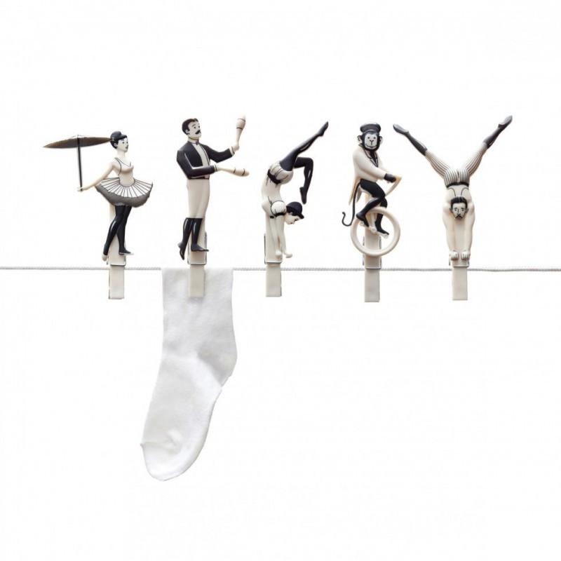 Mollette Pegzini acrobati del bucato