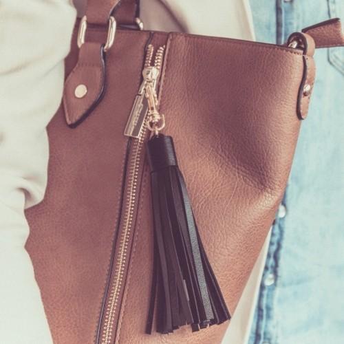 Nappa da borsa carica smartphone USB 2 in uno
