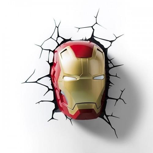 Lampada a parete Iron Man