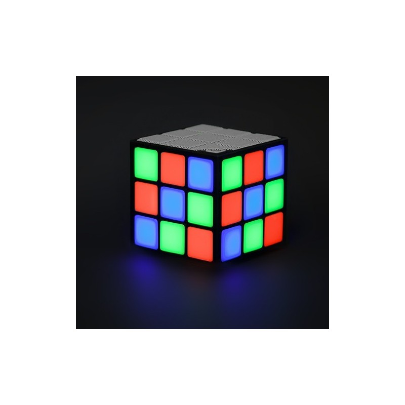 Speaker cubo LED luminoso