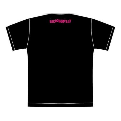 T-Shirt Maglietta Banana Fucsia Uomo