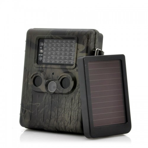 Videocamera da caccia con pannello solare
