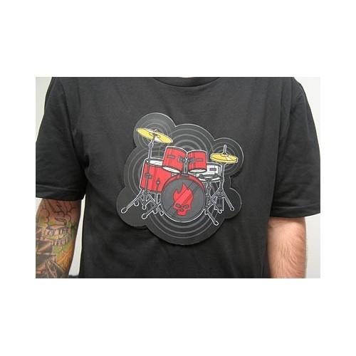 Tshirt Maglietta elettronica con batteria DRUM KIT audio