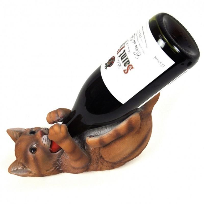 Porta bottiglia gatto