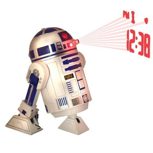 OROLOGIO SVEGLIA C1-P8 (r2-d2) Star Wars proiettore orologio