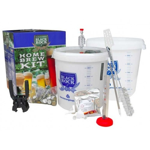 Kit per Birra Completo - Homebrew Kit Lux - 23 lt - Black Rock