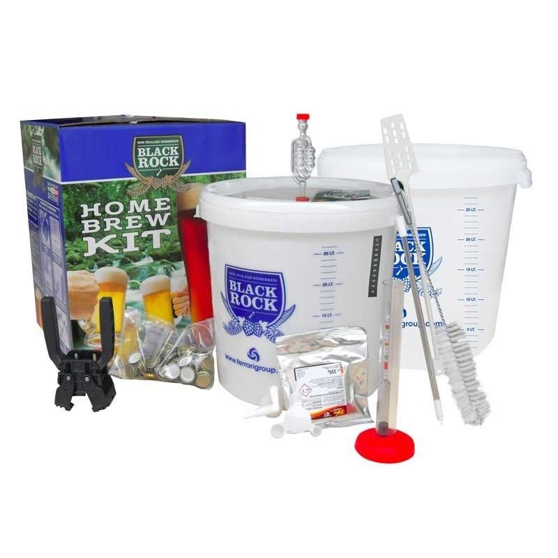 Kit per Birra Completo - Homebrew Kit Lux - 23 lt - Black Rock