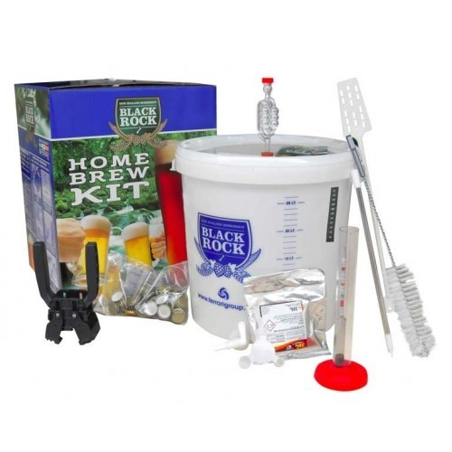 Kit per Birra - Homebrew Kit Base - 23 lt - Black Rock