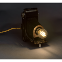 EUREKA LAMP Folding Lampada macchina fotografica vintage