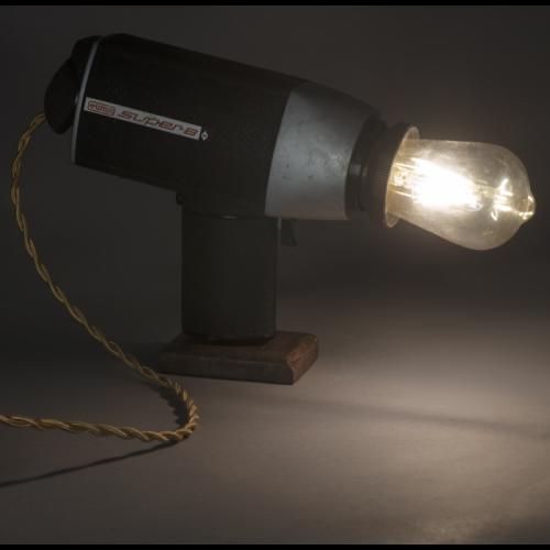 EUREKA LAMP Super8 Lampada Cinepresa vintage