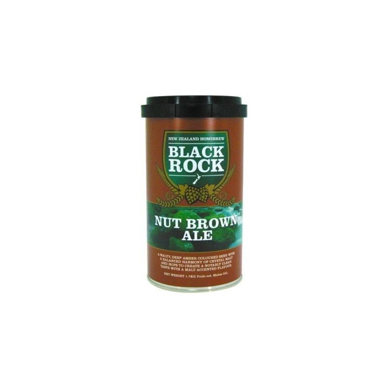 "Malto per birra rossa ""Nut Brown Ale""- 1,7 kg – Black Rock"