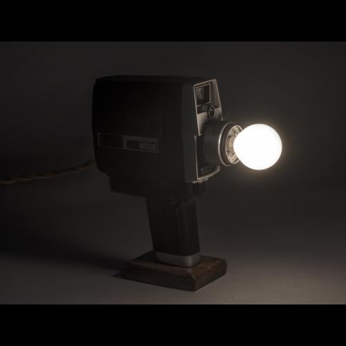 EUREKA LAMP Super8 Lampada Cinepresa Vintage KOHKA 200