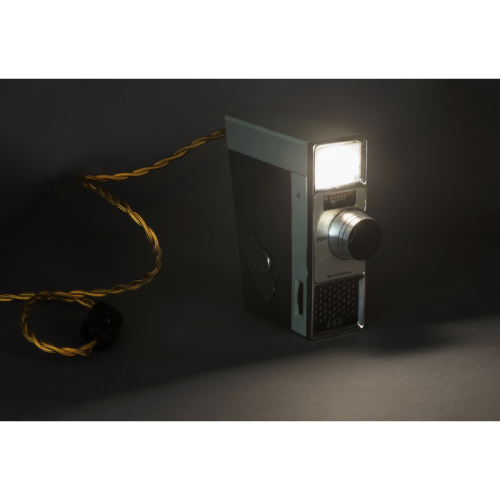 EUREKA LAMP Lampada Cinepresa vintage A8G