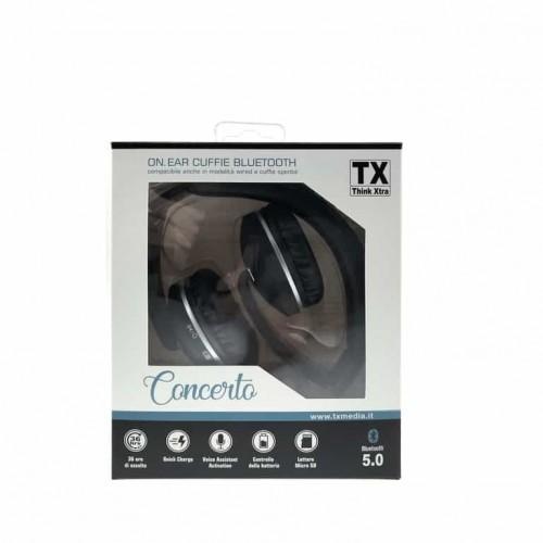 Cuffie Bluetooth 5.0 Concerto TX-172 Batteria Ricaricabile