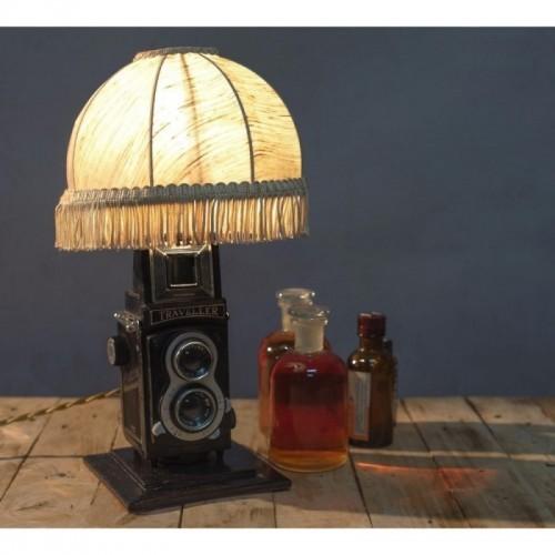 EUREKA LAMP Abat Jour anni 60 Toy Camera a Pozzetto