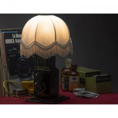 EUREKA LAMP Abat Jour anni 50 Macchina Fotografica Pozzetto