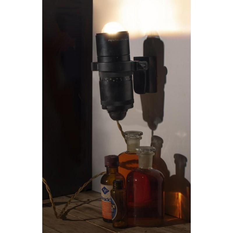 Eureka Lamp Lampada a Muro Obbiettivo Macchina Fotografica