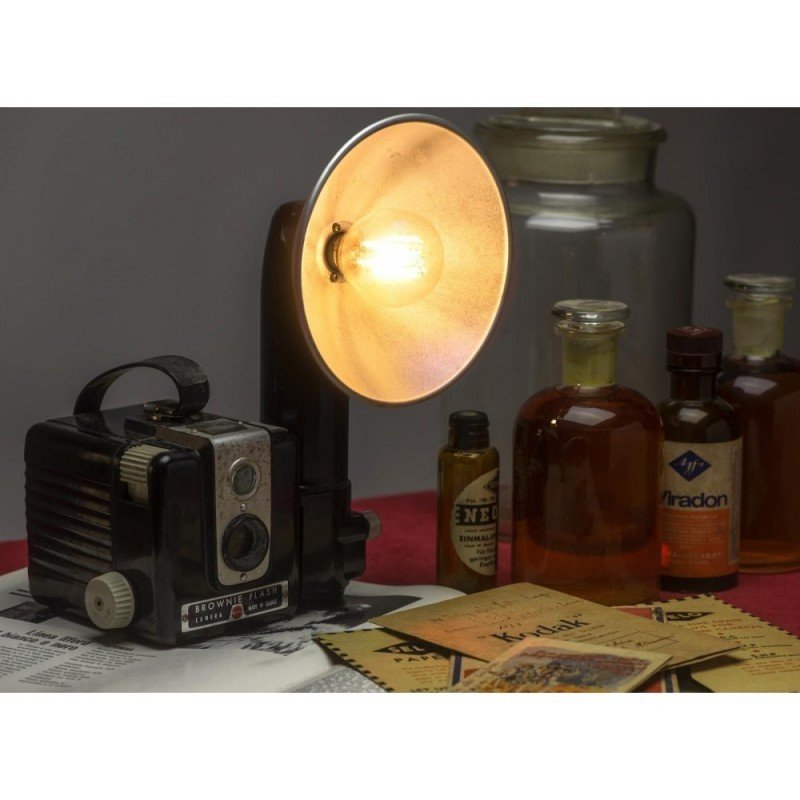 EUREKA LAMP Kodak brownie Lampada da tavolo anni 60