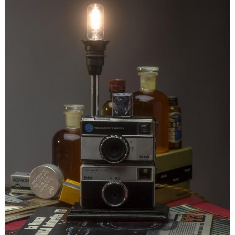 EUREKA LAMP Kodak Instamatic Lampada da Tavolo Macchina Fotografica
