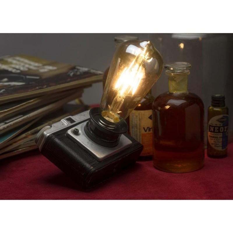 EUREKA LAMP Lampada Macchina Fotografica da tavolo