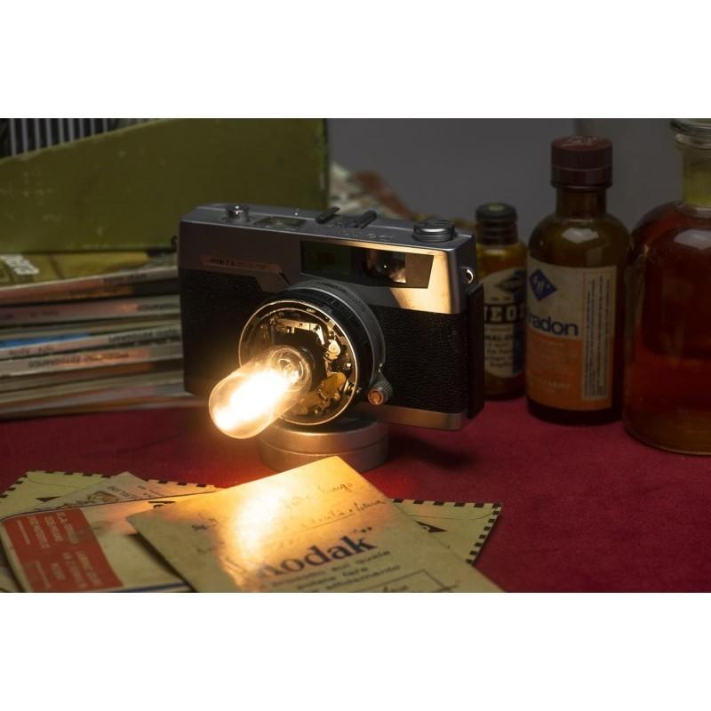Eureka Lamp Lampada Macchina Fotografica Petri da Tavolo
