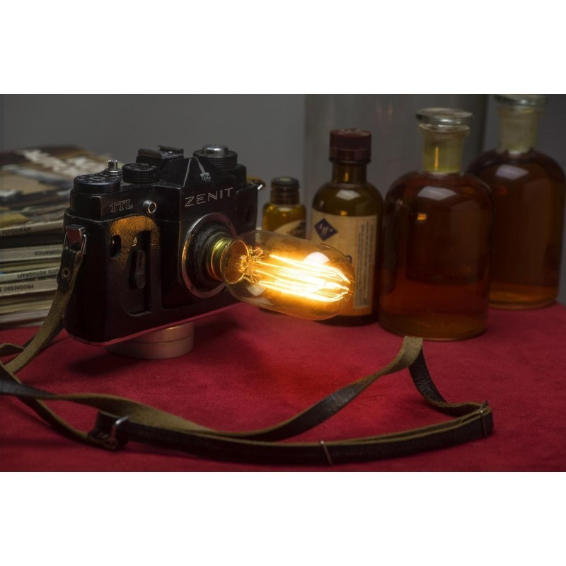 EUREKa LAMP Lampada Macchina fotografica Zenit Retrò